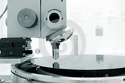 Scientific Microscope In A Laboratory Royalty Free Stock Images - Image: 25508819