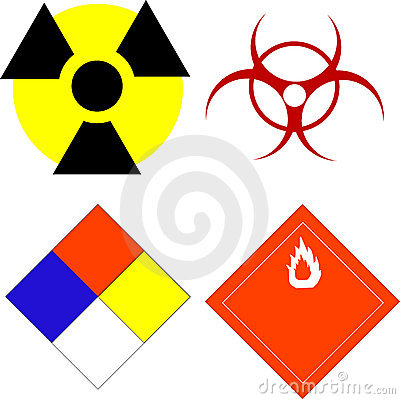 Scientific safety symbols