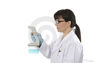 Scientist multichannel pipette