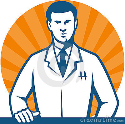 Scientist Researcher Lab Technician Tie