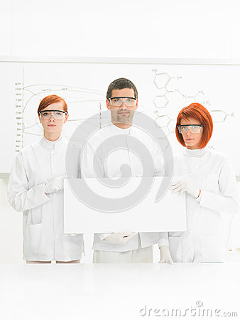 Scientists in chemstry lab