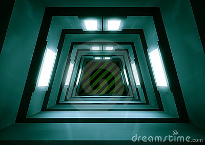 Scifi tunnel