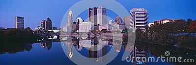... Capital City Lighting Columbus Oh Scioto River And Columbus Ohio  Skyline The Capital City ...