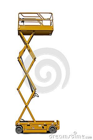 Free Scissor Lift Platform Royalty Free Stock Photos - 30524098
