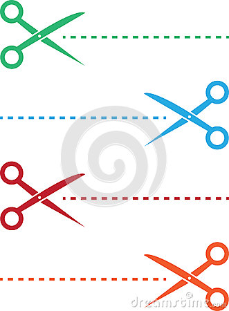 Scissor Line Colors