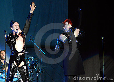 Scissor Sisters Live Editorial Photo