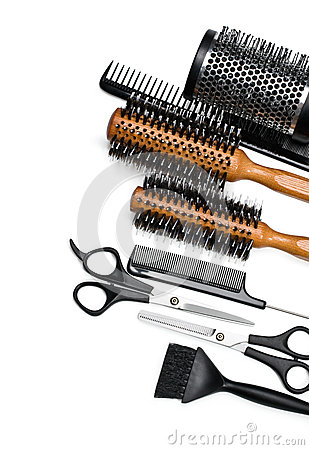 Free Scissors And Combs Stock Photos - 30751103