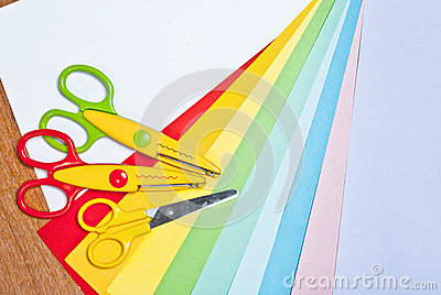 Scissors for children s art