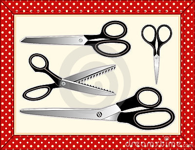 Scissors Collection, Includes seamless tile