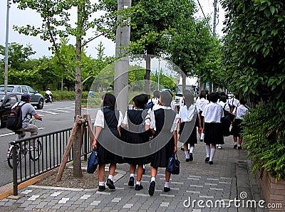 Scolare giapponesi