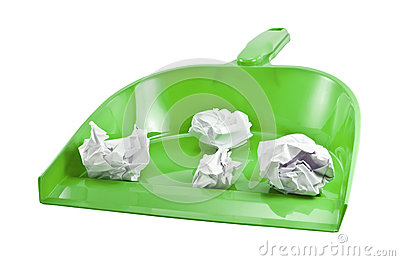 Scoop For Cleaning Stock Image - Image: 25486451