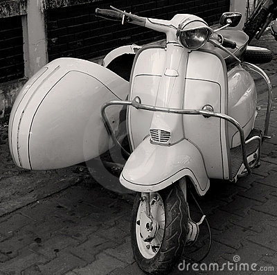 Free Scooter Stock Photography - 3523252