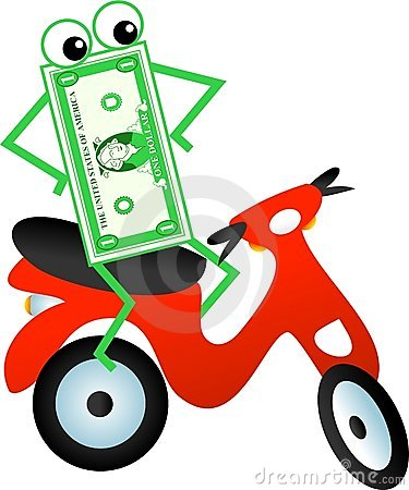 Scooter dollar
