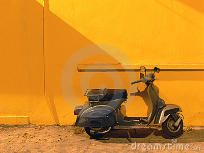 Scooter nostalgique