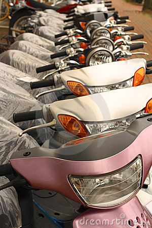 Scooters row