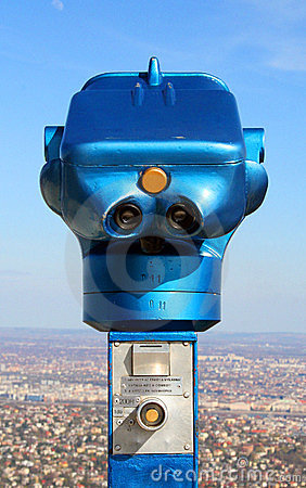 Scope on the Elisabeth look-out tower