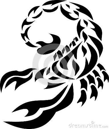The Scorpion The Image Of A Tattoo Drawing Consists Of Parts The