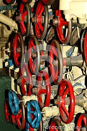 Scorpion Submarine Control Wheels