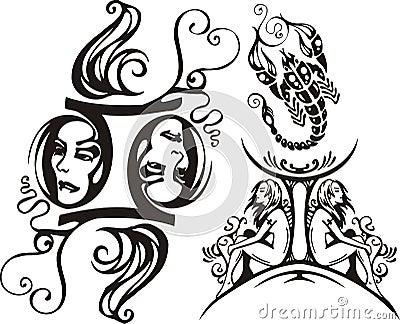 Scorpion and Twins.