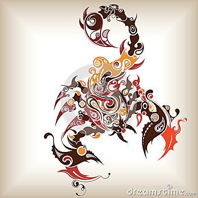 Scorpione del tatuaggio