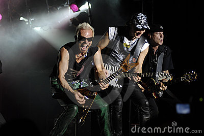 The Scorpions Band Royalty Free Stock Image - Image: 14715996