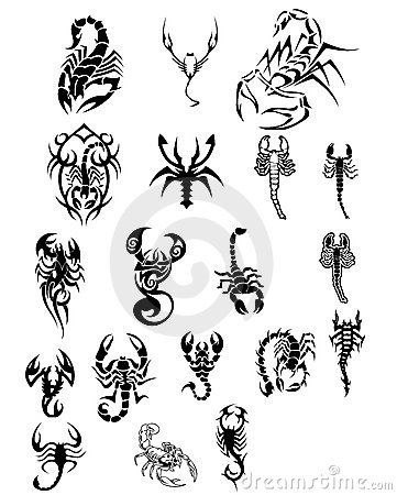 Free Scorpions Tatoo Royalty Free Stock Photography - 3286817