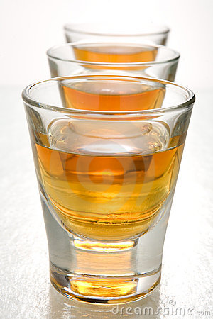 Free Scotch In Shot Glasses Stock Image - 2152221