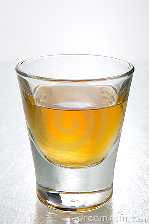 Scotch in shot glasses