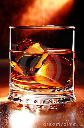 Free Scotch Whisky On A Table Royalty Free Stock Images - 5102719