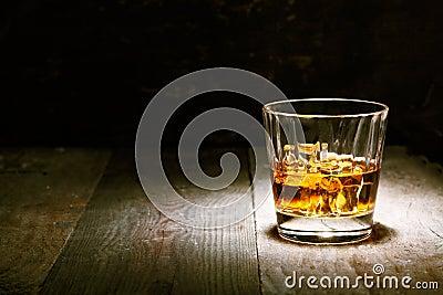 Scotch on wood