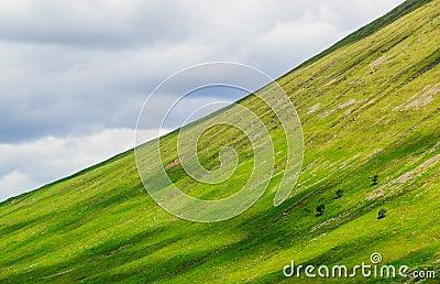 Scotland mountain diagonal