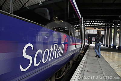 ScotRail (Scotland s Railway) Editorial Photo
