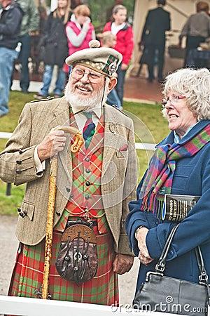 Scotsman at Braemar Gathering Editorial Image