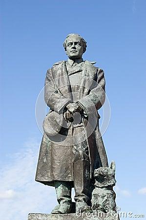 Scott of the Antarctic Statue