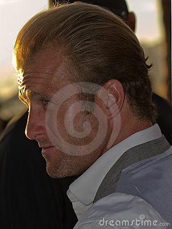 Scott Caan Profile Editorial Stock Photo