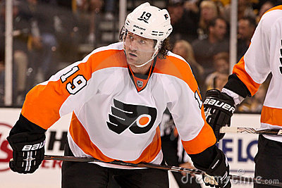 Scott Hartnell Philadelphia Flyers Editorial Stock Image