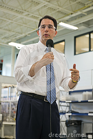Scott Walker, Wisconsin State Governor Editorial Photography