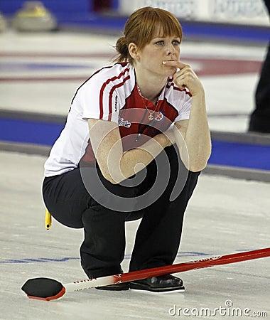Scotties curling askin Editorial Stock Image