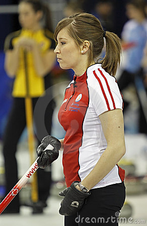 Scotties curling lawes profile Editorial Image