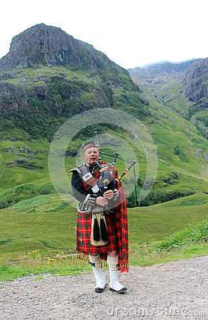 Free Scottish Bagpipes Royalty Free Stock Photos - 79383248