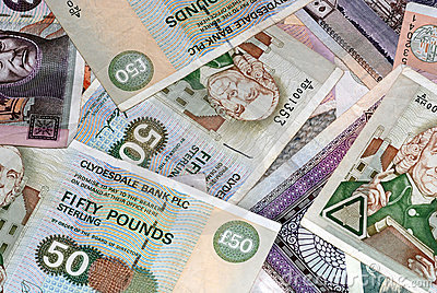 Scottish Bank Notes various amounts
