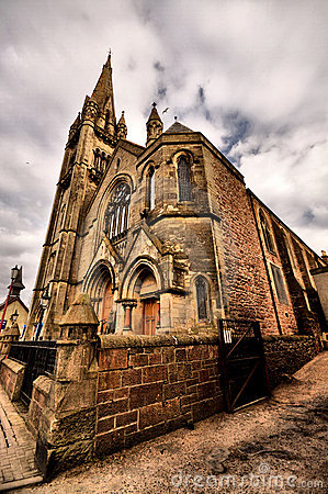 Scottish Church - HDR
