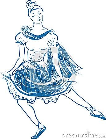 Scottish dancer