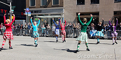 Scottish Day Parade Editorial Stock Image