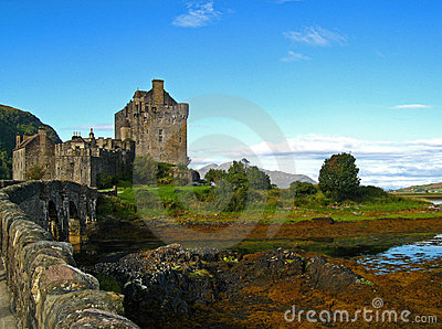 Scottish Highland Castle 09
