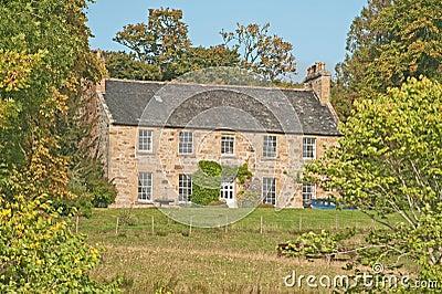 Scottish House in Woodland