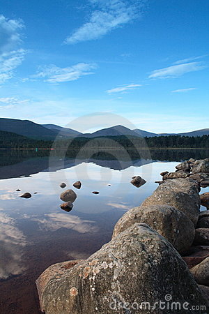 Scottish Loch - Loch Morlich