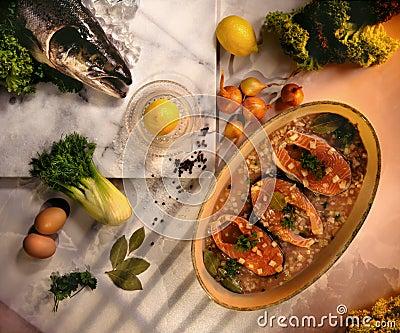 Scottish Salmon Steaks