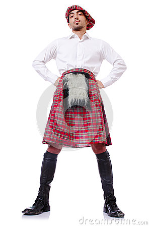 Scottish traditions concept