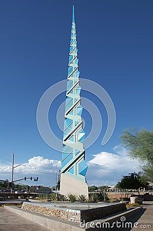 Scottsdale AZ, Spire landmark